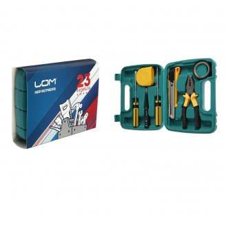 Набор инструментов в кейсе LOM  7 предметов 4501314