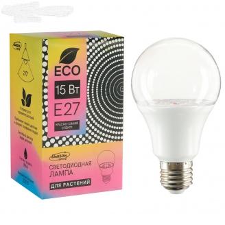 Luazon Lighting Светодиодная лампа для растений 15Вт, Е27, 220В