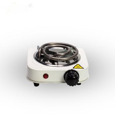 Плитка электр. JX-6114B 500W белая (спираль)