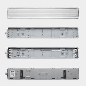 Sweko Светильник SWL-V3-2T8-120-230-AC IP65 под лампу Led 120mm (набор)