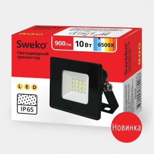 Прожектор светодиодный  Sweko SFL-SL- 10W-230-6500K BL