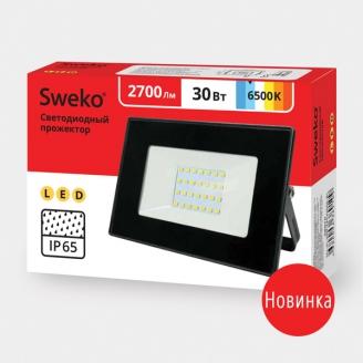 Прожектор светодиодный  Sweko SFL-SL- 30W-230-6500K BL