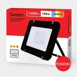 Прожектор светодиодный  Sweko SFL-SL-150W-230-6500K BL