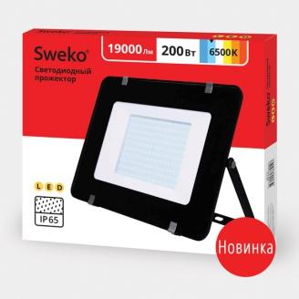 Прожектор светодиодный  Sweko SFL-SL-200W-230-6500K BL