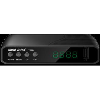 Word Vision Цифровой ТВ ресивер TV DVB-Т2 (T62D)