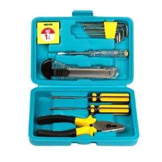 Набор инструментов 11 предметов, отверт.,тестер, плоског.,рулетка,ключи шестигр. Smartbuy One Tools
