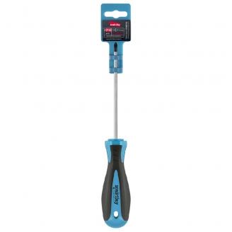 Отвертка крестовая PH0x100, эргономичная 2х-компонентная рукоятка, CR-V, магнит, Smartbuy Tools