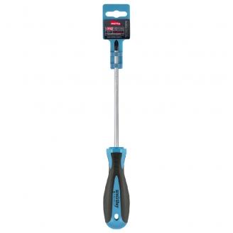 Отвертка крестовая PH2x150, эргономичная 2х-компонентная рукоятка, CR-V, магнит, Smartbuy Tools