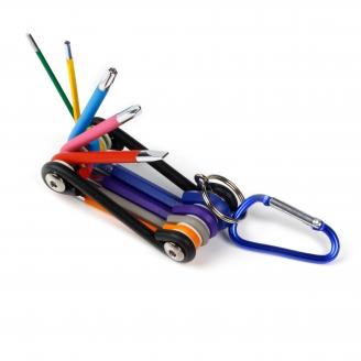Набор велосипедный 9 шт, 2 отв.:SL5;PH2,HEX:2,2.5,3,4,5,6,TORX:30 CR-V,Smartbuy tools