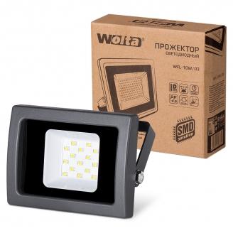 Wolta Прожектор WFL- 10W/03, 5500K, SMD, IP65