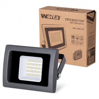 Wolta Прожектор WFL- 20W/03, 5500K, SMD, IP65 +