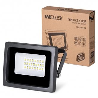 Wolta Прожектор WFL- 30W/03, 5500K, SMD, IP65