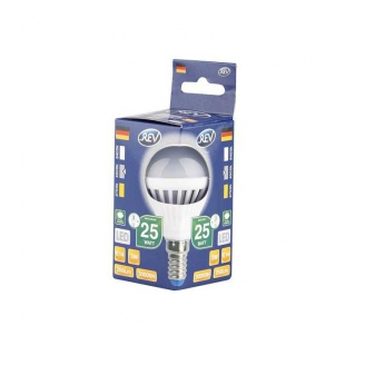REV Лампа LED G45  3W 2700K E14 тёплый свет