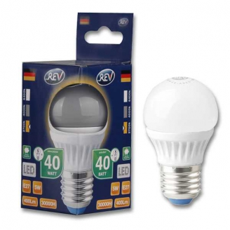 REV Лампа LED G45  7W 2700K E27 тёплый свет