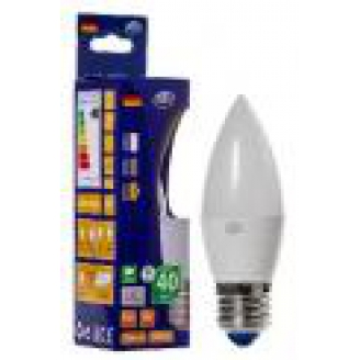 REV Лампа LED C37  5W 2700K E27 тёплый свет