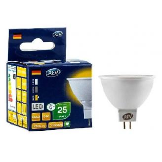 REV Лампа LED MR16  3W 12v 3000K GU5.3  тёплый свет
