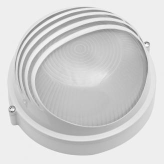 Светильник Sweko SBL-R3-100E27-WH IP54 (круг с ресничкой)
